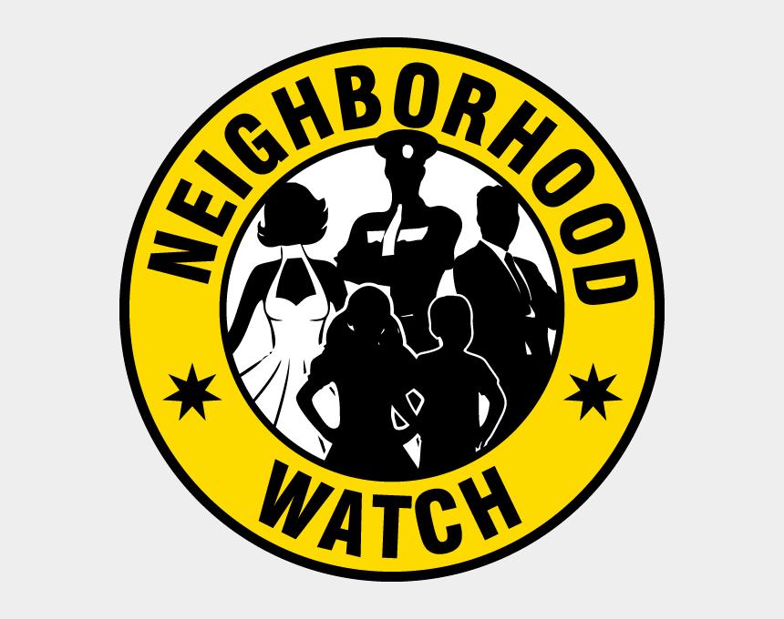 neighborhood watch logo clipart, Cartoons - Neighborhood Watch Label - Nigerian Red Cross Logo