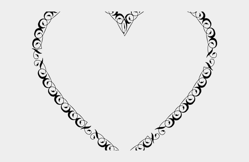 filligree clipart, Cartoons - Octigon Clipart Filigree - Vintage Heart Png