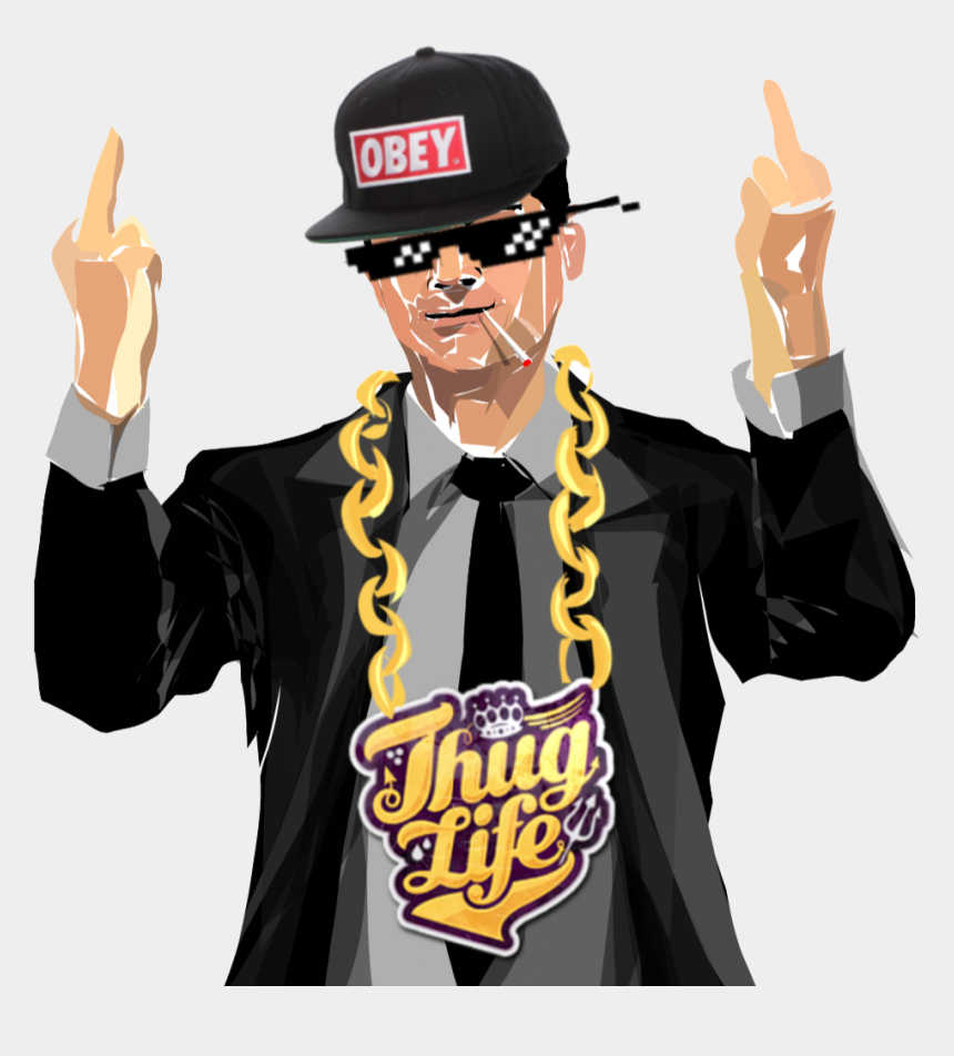 thug life clipart, Cartoons - Thug Transparent Cartoon - Ben Shapiro Thug Life