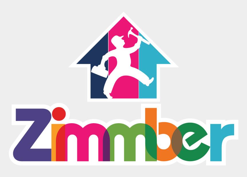 handyman clipart png, Cartoons - Taking Hands On Zimmber Handyman Services App - Home Service Provider Logo