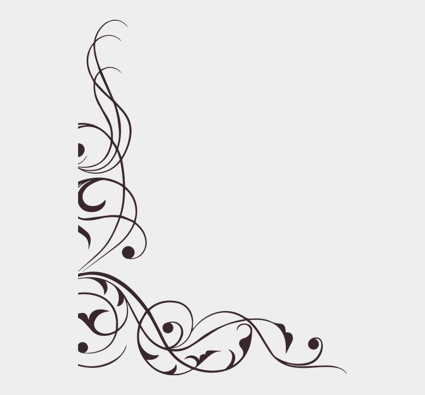 decorative swirl clipart, Cartoons - Swirl Ornament Decoration Element Ephemera Floral - Transparent Clip Art Designs