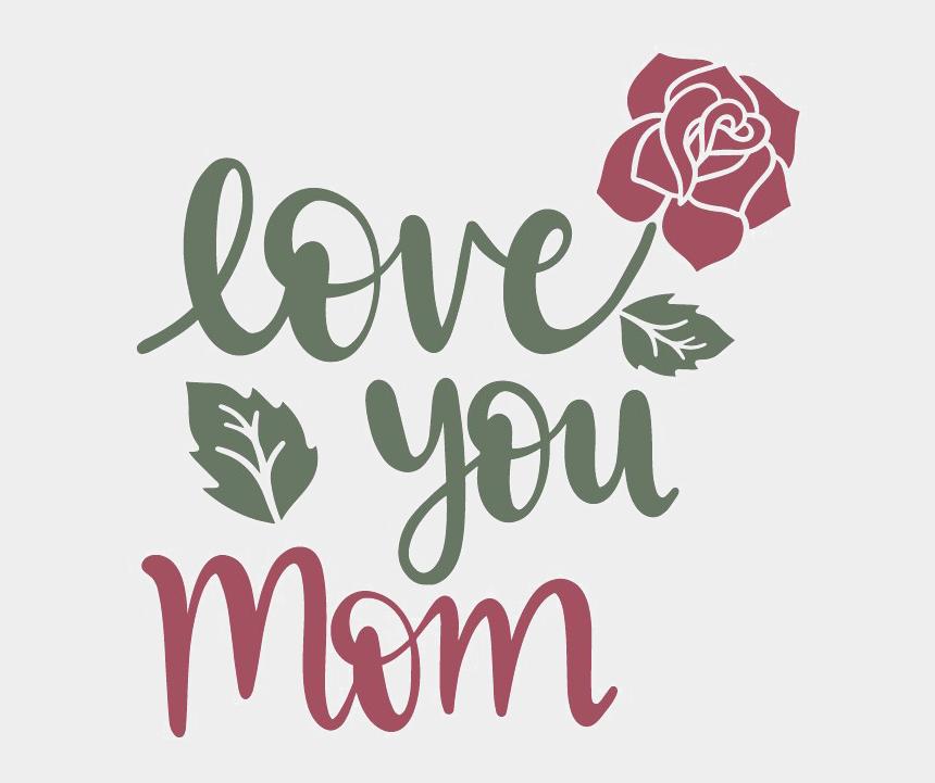 mom crying clipart, Cartoons - I Love You Mom Transparent - Love You Mom Png
