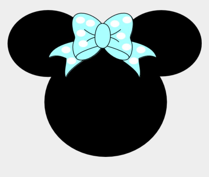 disney bow clipart, Cartoons - #mq #blue #bow #ribbon #minnie #minniemouse #disney - Minnie Mouse