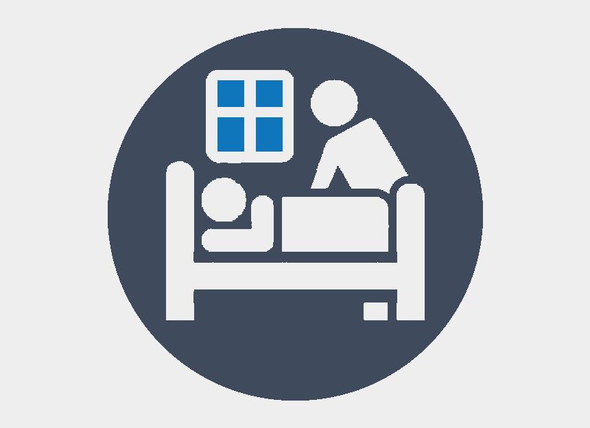 nursing home building clipart, Cartoons - End Of Life Care - Graphic Design