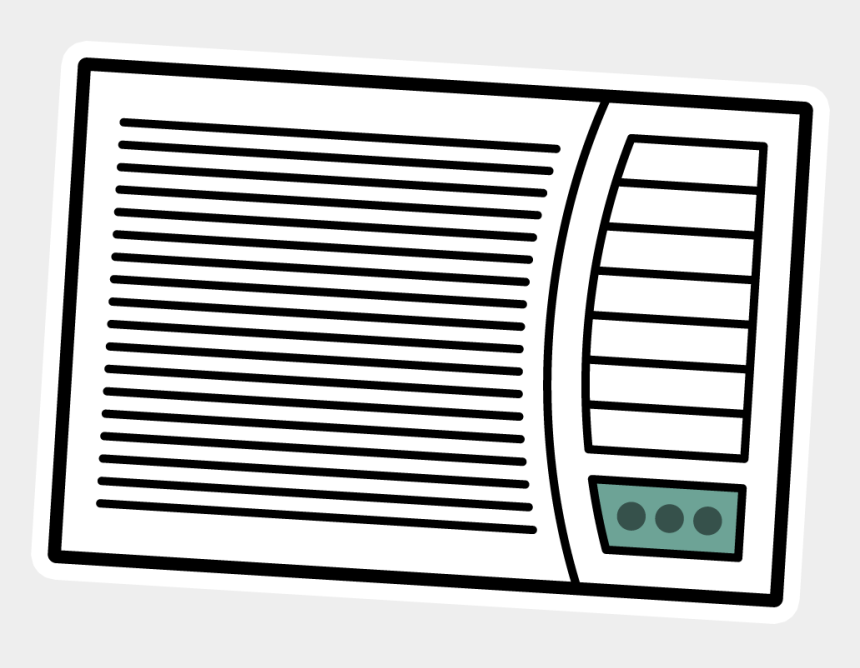 beach towel clipart black and white, Cartoons - Ac Unit - Parallel