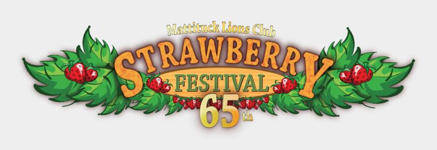 lions club logo clipart, Cartoons - 3649 - Mattituck Strawberry Festival