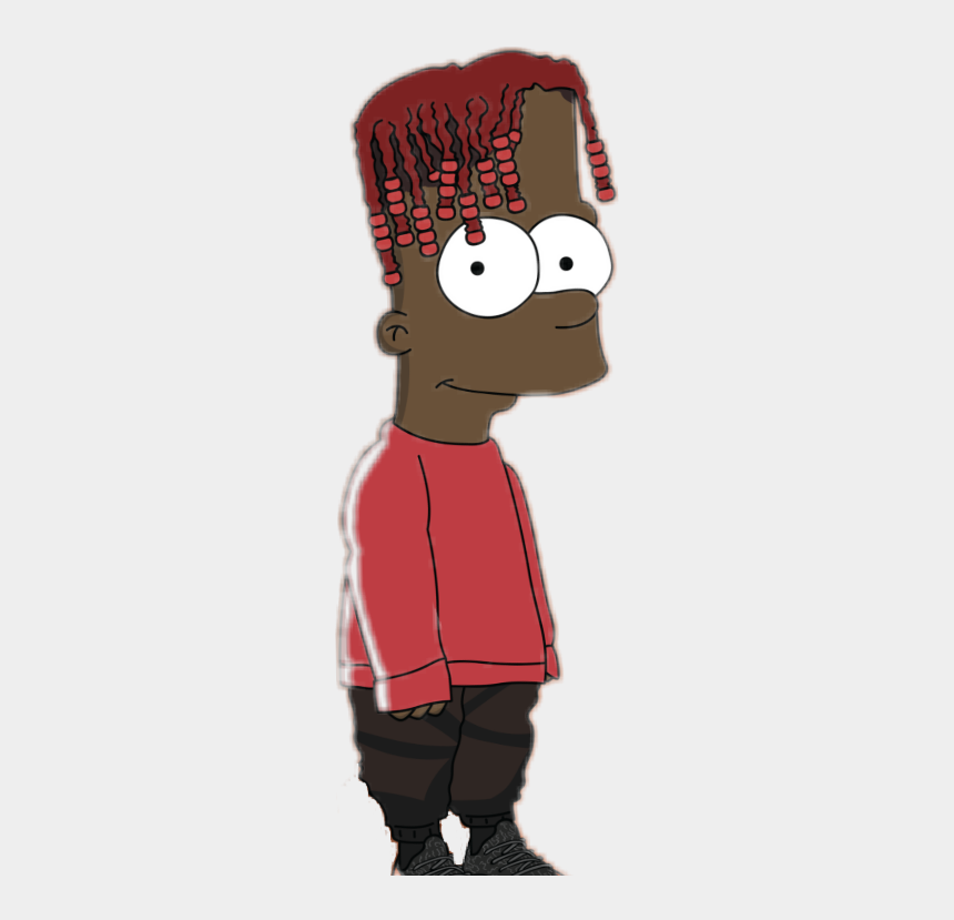 Blacklivesmatter Sticker Lil Yachty Bart Simpson Png