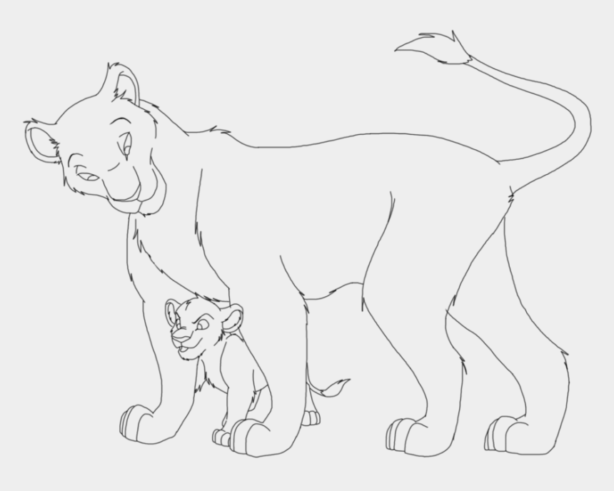 the lion guard clipart, Cartoons - Lion King Base By Drawing Silversky - Lion Base Drawing
