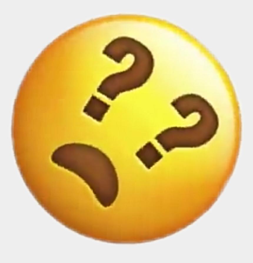 iphone emoji clipart, Cartoons - Emoji Clipart Question - Emoji Sticker Question Mark