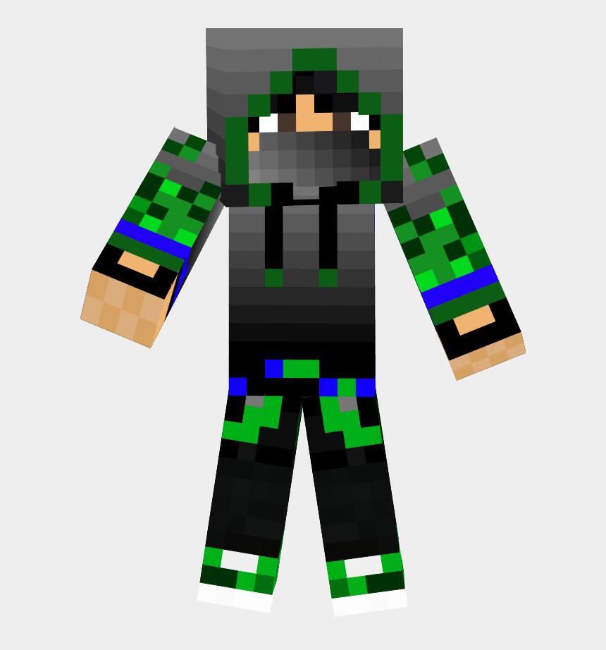 minecraft characters clipart, Cartoons - The Green Ninja - Skin De Minecraft De Ninja