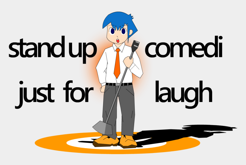 stand up comedy clipart, Cartoons - Another, If We Sweep The Floor Uncleanly, The Next - Thanks For This Beautiful Life