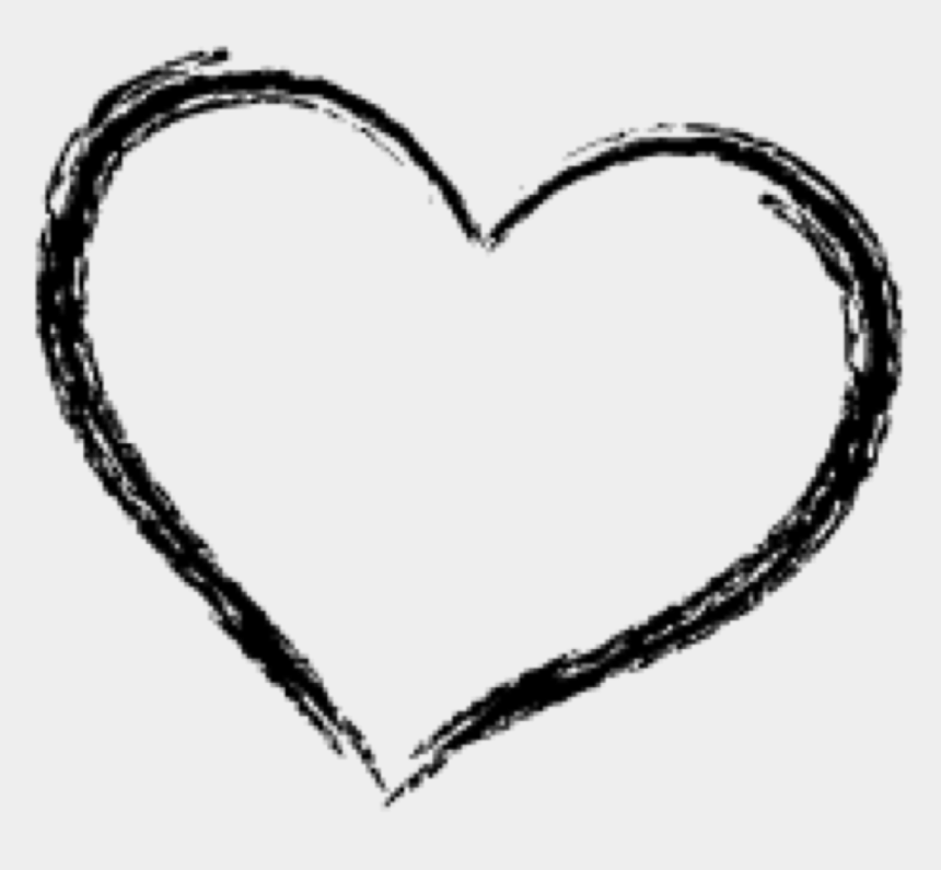 heart doodle clipart, Cartoons - #heart #doodle #freetoedit - Transparent Background Heart Doodle