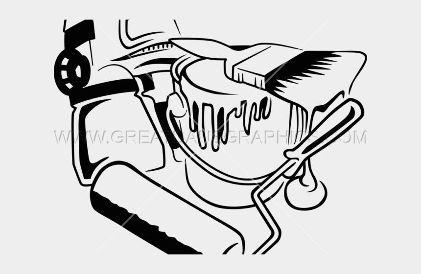 paint gun clipart, Cartoons - Splatter Clipart Outline Paint - Drawing