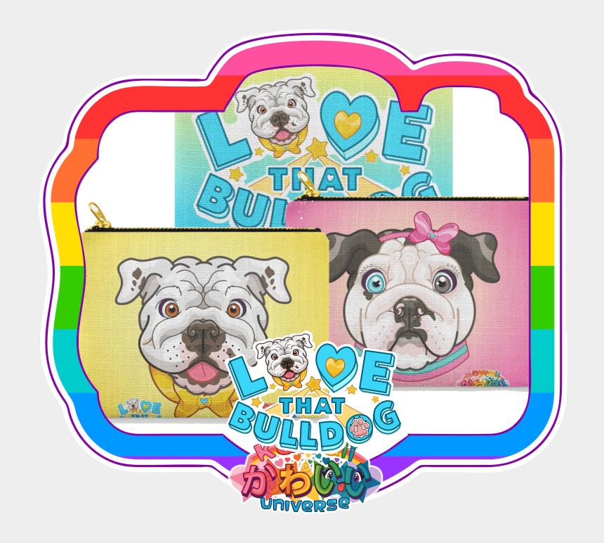 bulldog clipart images, Cartoons - Clip Purse Bulldog - Pug