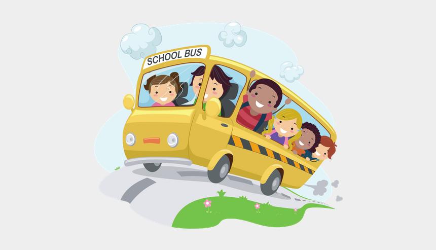 after school program clipart, Cartoons - Wata's After School Program Offers General Care, Assistance - Bus Trip Cartoon Png