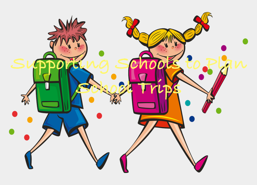 supporting clipart, Cartoons - Supporting Schools To Plan School Trips - Literacy Numeracy Clipart