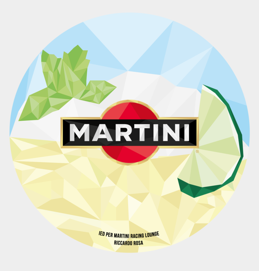polygon clipart, Cartoons - Trends 2015 Polygonal Graphics Martini Royale Bianco - Martini And Rossi Logo Png