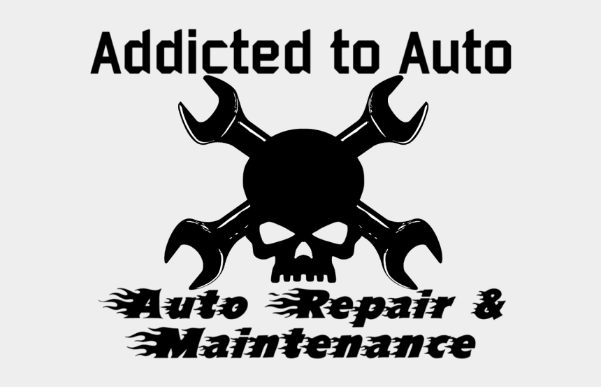 small engine repair clipart, Cartoons - Addicted To Auto - Poster