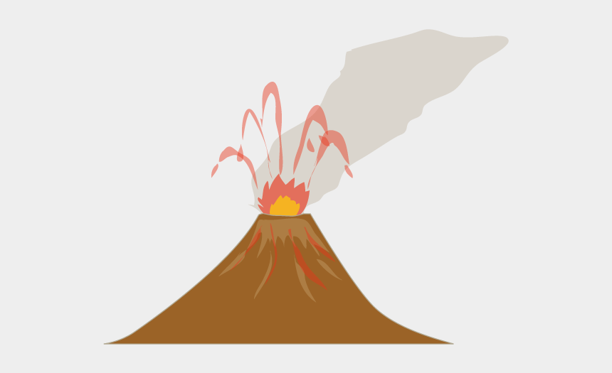 volcano eruption clipart, Cartoons - View All Images-1 - 活 火山 イラスト