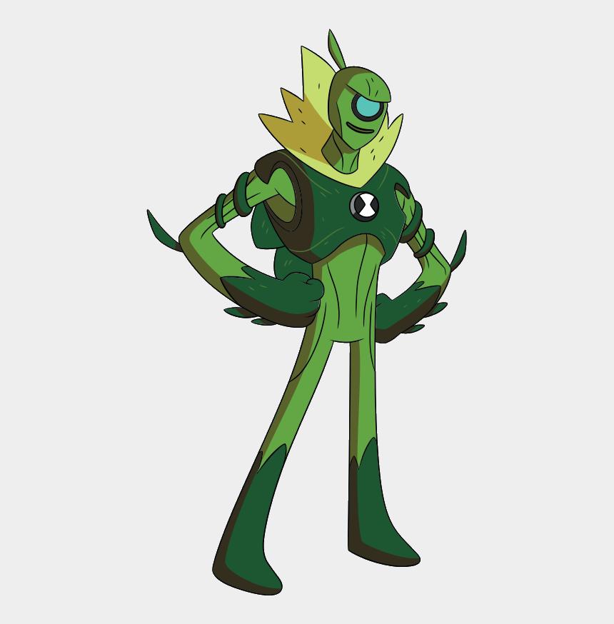ben 10 clipart, Cartoons - Ben 10 Wildvine - Aliens De Ben 10