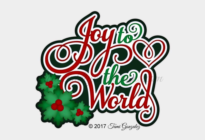 clipart joy to the world, Cartoons - Joy To The World Title