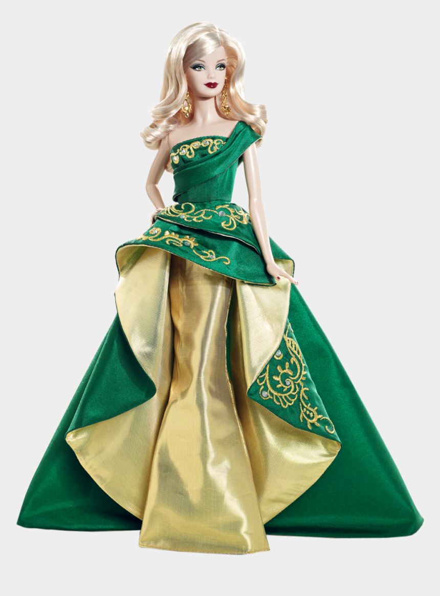 barbie dolls clipart, Cartoons - Barbie Christmas Doll - Barbie 2011 Holiday Doll