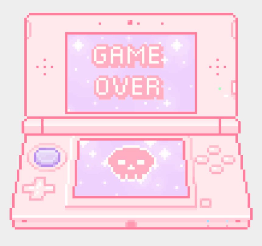 Pink Cute Cutepink Game Over Gameover Games Kawaii