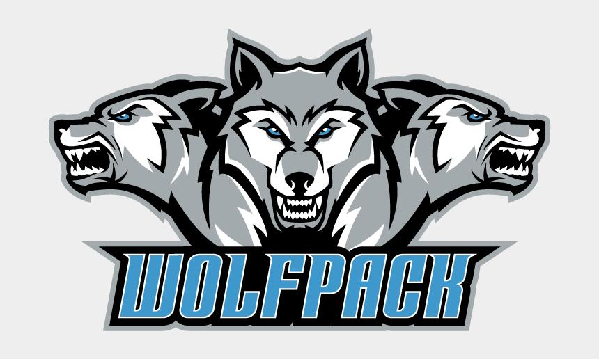 nc state wolfpack clipart, Cartoons - Transparent Emblem Wolf Pack, Picture - Ridgeview High School Va Logo