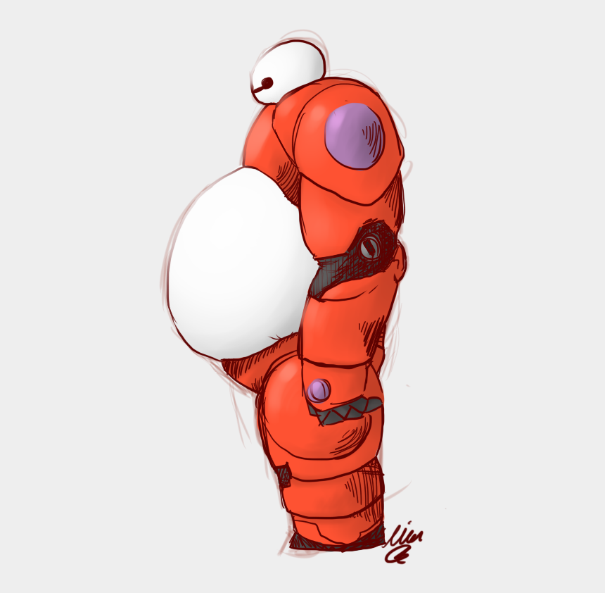 big hero 6 clipart, Cartoons - Awwww Baymaxes Big Belly Baymax, Big Hero 6, Tigger, - Cartoon