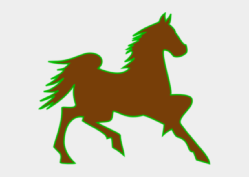 bronco horse clipart, Cartoons - Green Horse Cliparts - Horse Clip Art