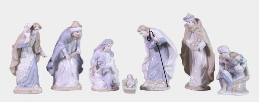 o come let us adore him clipart, Cartoons - Oh, Come Let Us Adore Him Nativity - Figurine