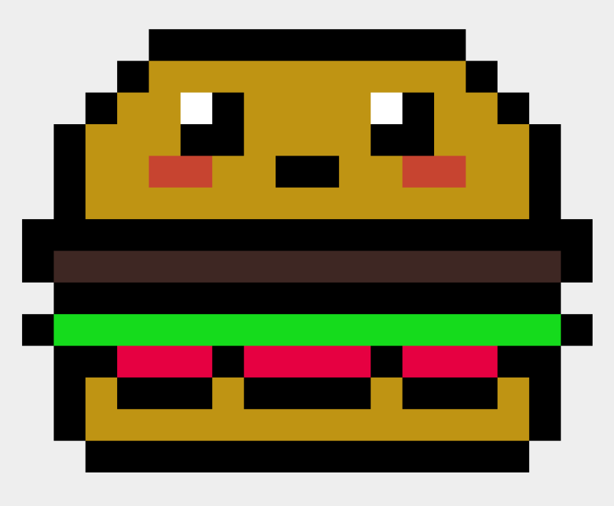 Pixel Art Food Kawaii Video Game Pixel Art Easy Cliparts