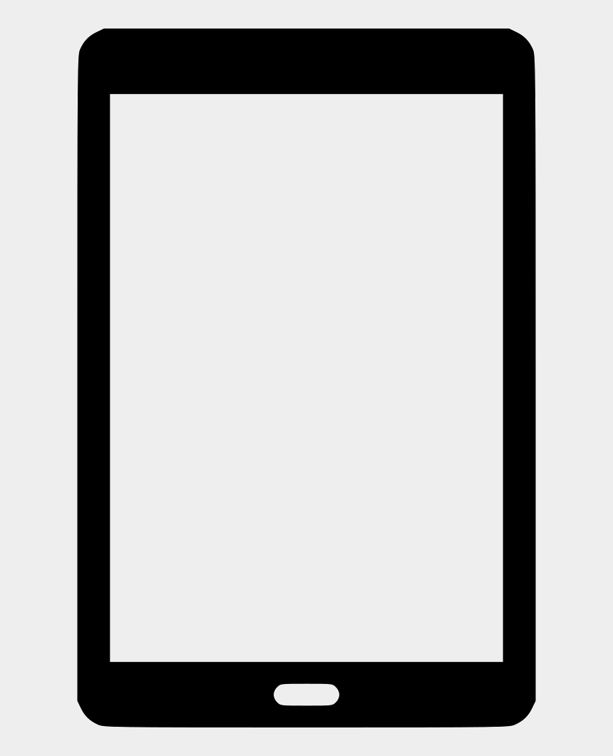 android smartphone clipart, Cartoons - Android Clipart Android Tablet - Cell Phone Frame Png