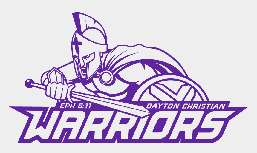 christian warrior clipart, Cartoons - Christian Warrior Png - Dayton Christian High School