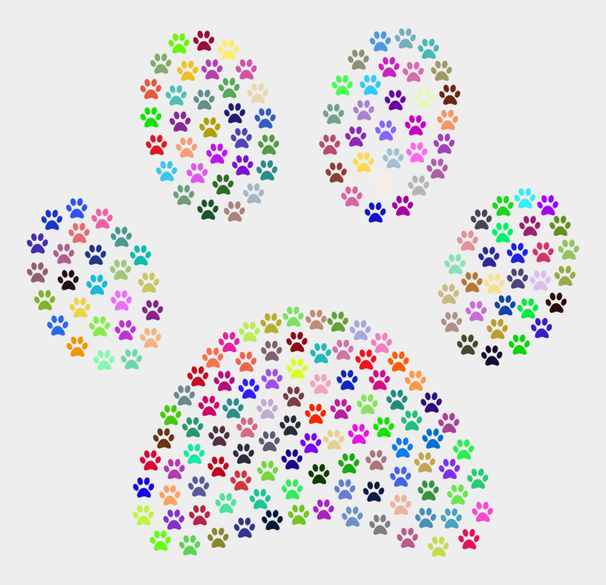 free vinyl cutter clipart, Cartoons - Party Explosions Paw Print Multi-pack Printed Craft - Dog Paw Print Background