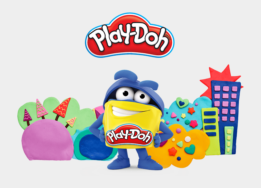 girl playing with toys clipart, Cartoons - Shape Your Imagination - Play Doh