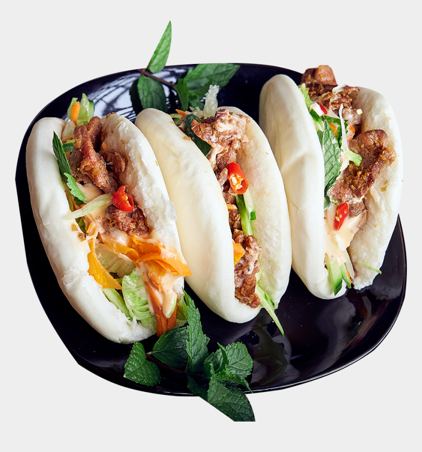 vietnamese food clipart, Cartoons - Bbq Pork Bao Buns - Fast Food
