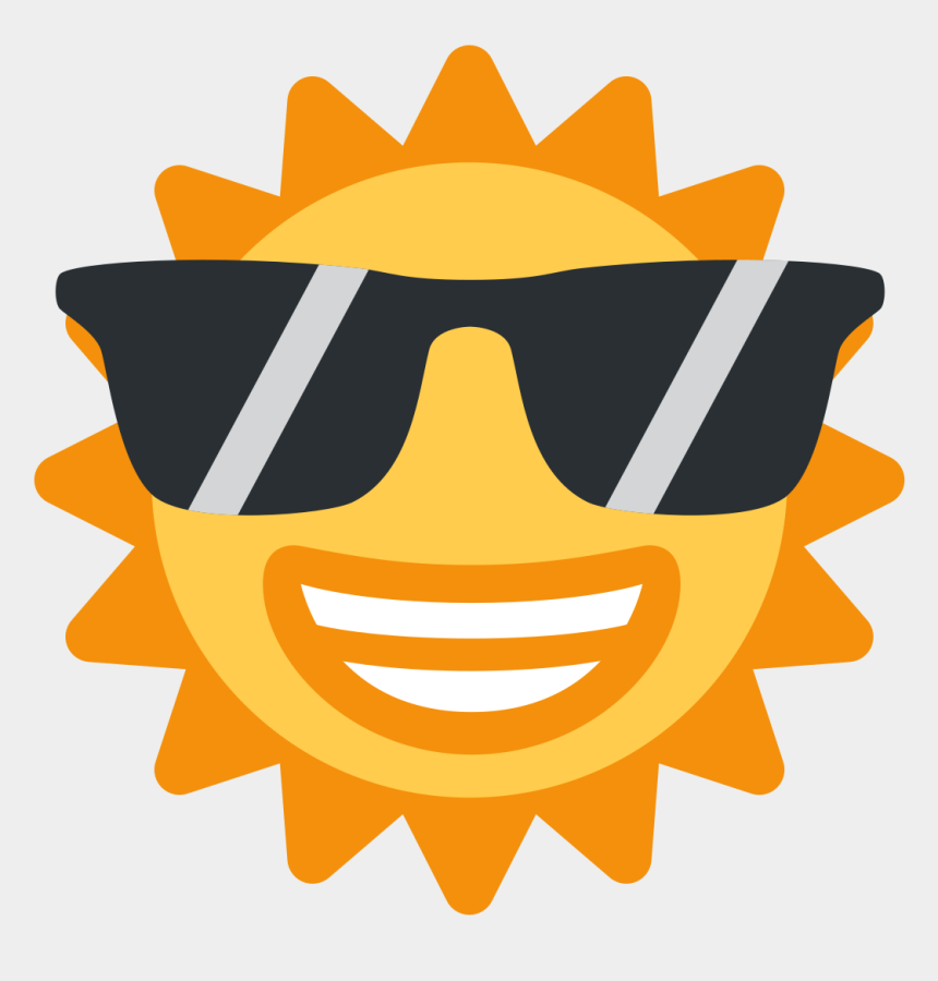 cool emoji clipart, Cartoons - Sunglasses Emoji Clipart Discord - Sun Emoji Discord
