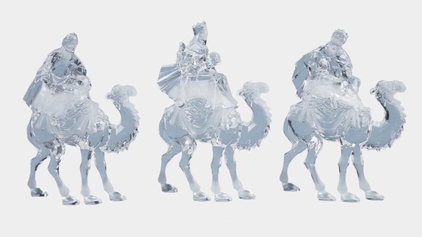 oh come let us adore him clipart, Cartoons - Three Kings Nativity Set - Arabian Camel