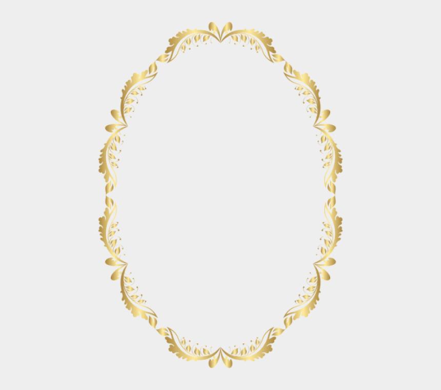 gold glitter frame clipart, Cartoons - Oval Frame Transparent Clip Art Image - Free Oval Frame Clipart