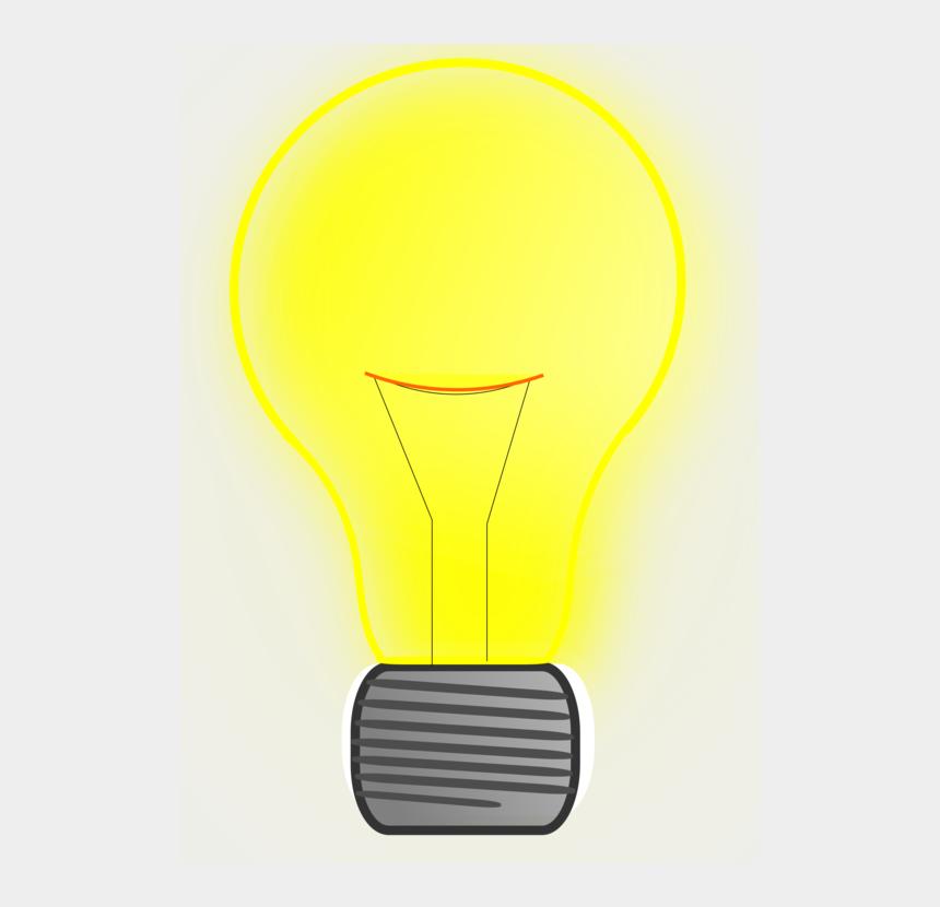 fluorescent light clipart, Cartoons - Incandescent Light Bulb Compact Fluorescent Lamp Led - Shining Light Bulb Vector