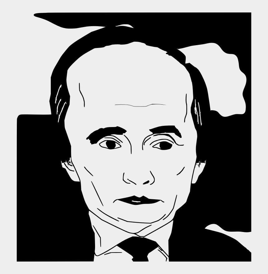 einstein head clipart, Cartoons - Caricature Clipart Free For Download - Putin Clipart