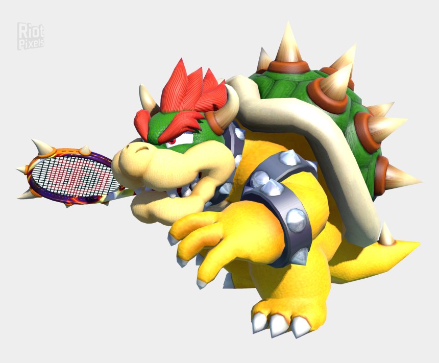 pocket aces clipart, Cartoons - Mario Tennis Aces Bowser
