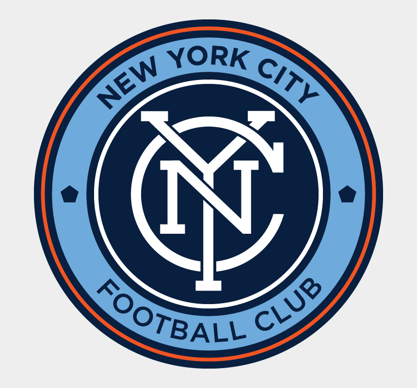 yankee stadium clipart, Cartoons - Nycfc - New York City Fc Logo