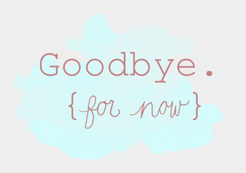 goodbye and good luck clipart, Cartoons - Goodbye For Now - Blink 182 Wallpaper 2011