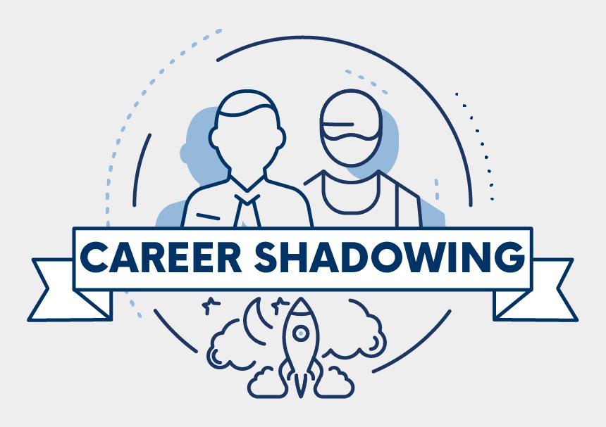 job shadowing clipart, Cartoons - Job Shadowing Icon