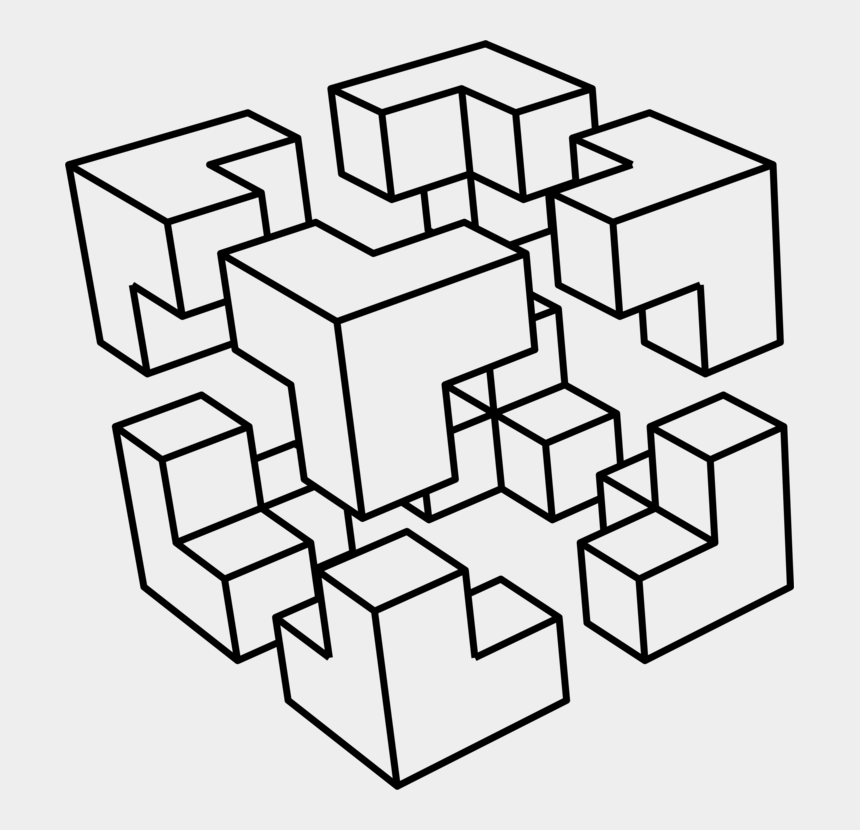 favorite things clipart, Cartoons - This Png File Is About Cube , Blocks , Clipart , Perspective - Cut Cube