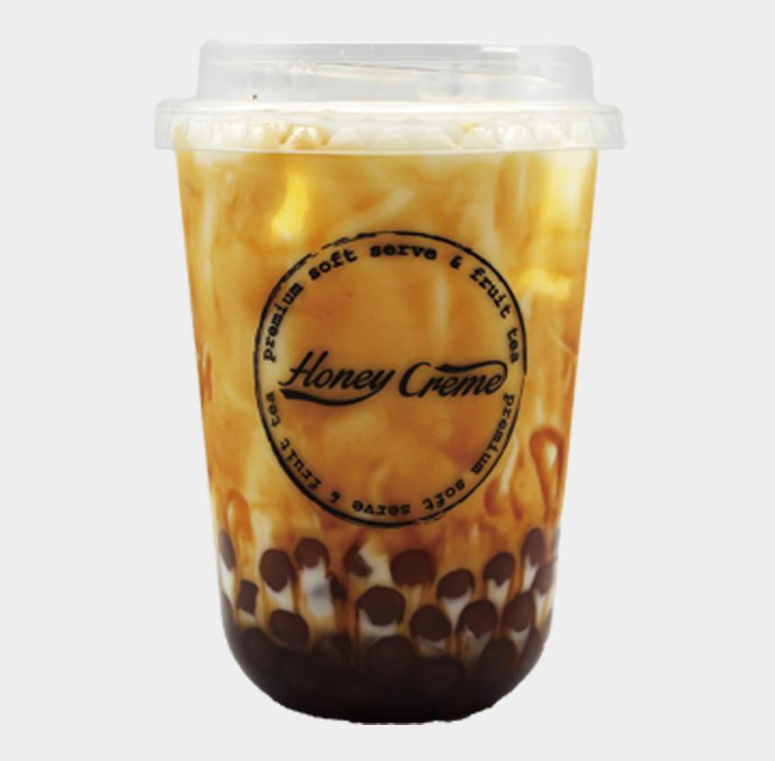 brown sugar clipart, Cartoons - Bobo Brown Sugar Milk - Brown Sugar Milk Tea Png