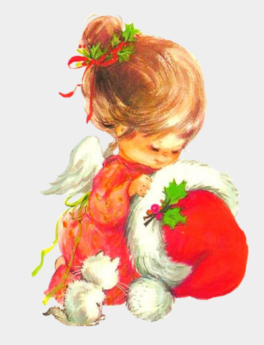 knitting vintage clipart, Cartoons - Tubes De Noel - Floral Design