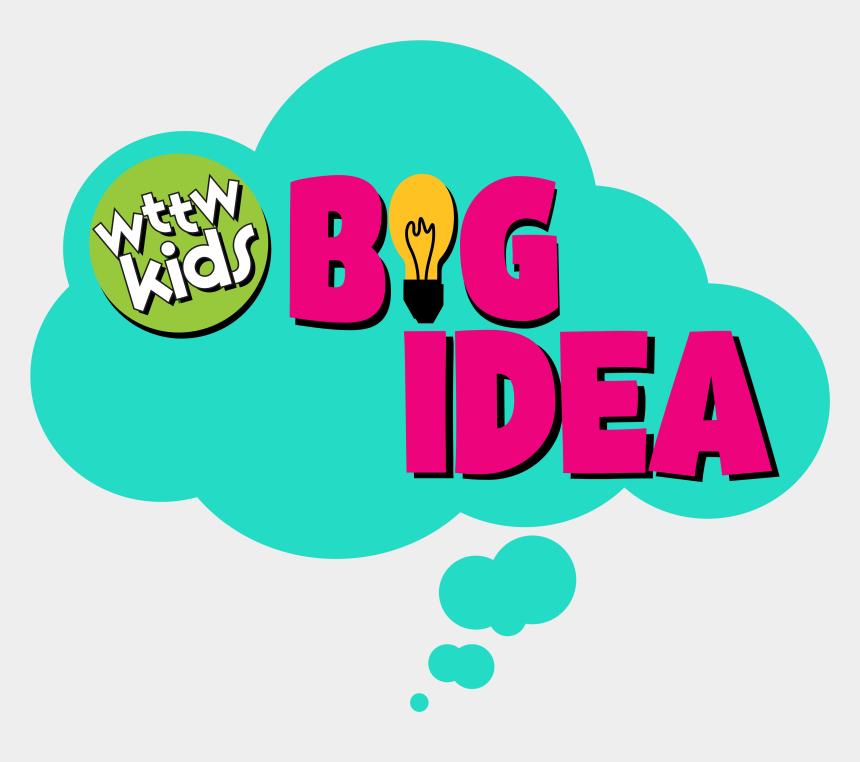 traveling the world clipart, Cartoons - Wttw Kids Big Idea Logo - Wttw Kids